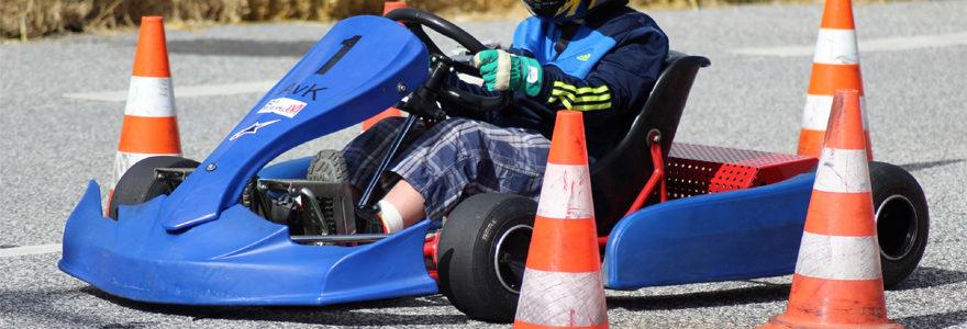 Session de karting