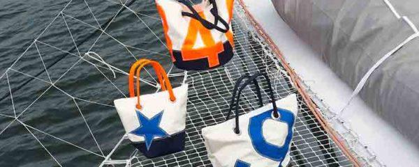 voile de bateau recyclée